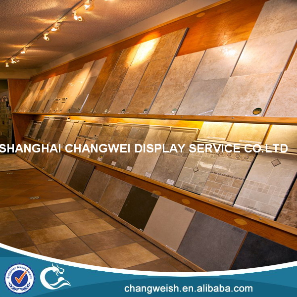 display stands for tiles used/tiles display shelf