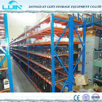 light duty storage angle iron rack or metal shelf