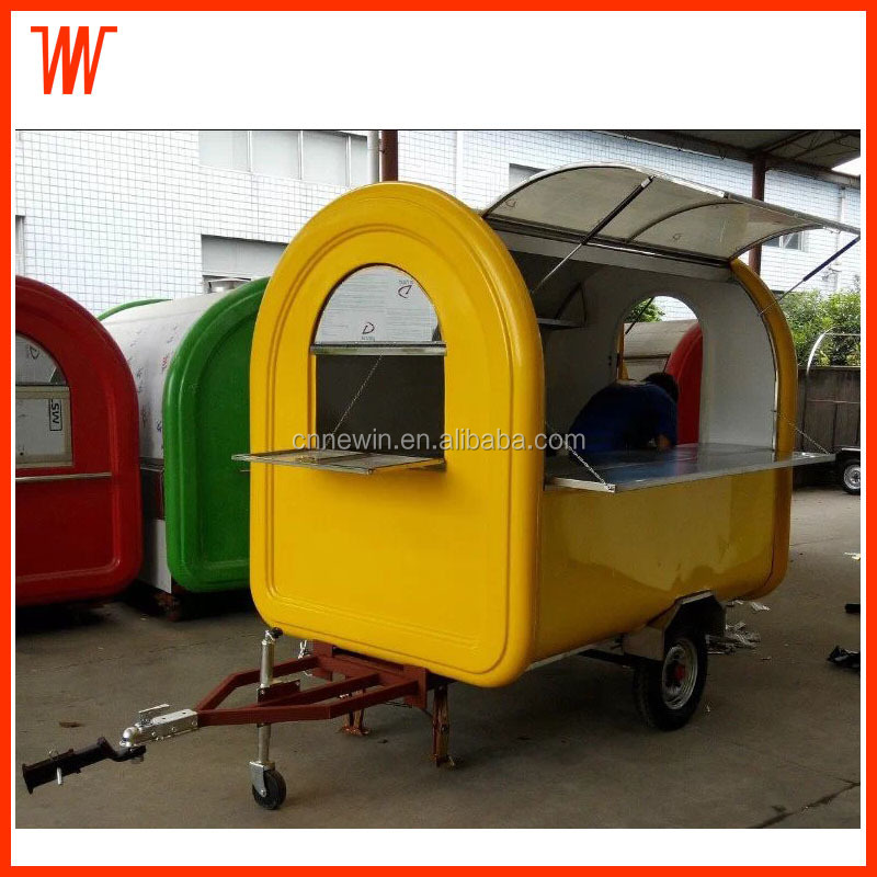 Pull type Food Transport Cart