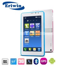 China market of electronic 6.5 inch android tablet pc with 3G calling function phablet, wifi, bluetooth, GPS