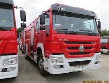 8Tons HOWO Water Tanker Fire Fighting Truck Fire Water Trucks for Sales