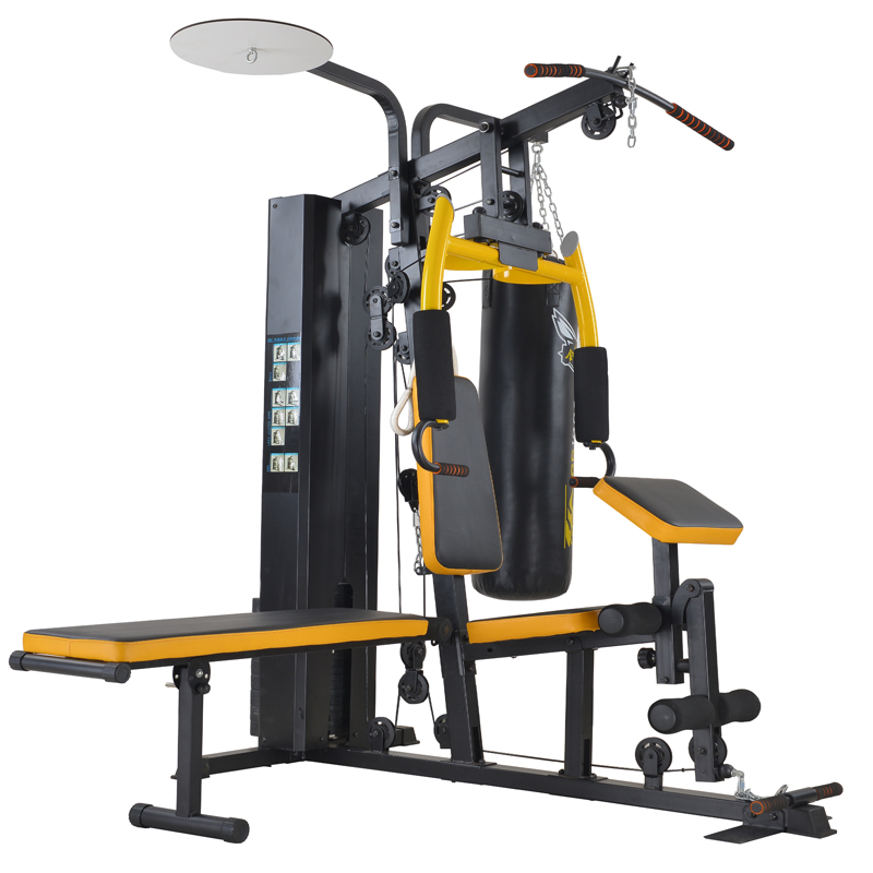 MEDEKY Mens and women fitness equipment 8 home multi station gym