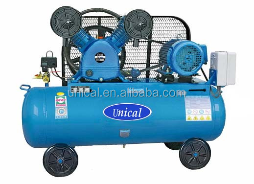 piston air compressor Unical 1.5KW 2HP V-0.15/10 belt air compressor