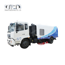OR5166 Gasoline Power Road Sweeper Truck Vacuum Road Sweeper Truck