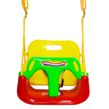 Brand wholesale custom colorful toys swing seat outdoor plastic swing kids hanging swing chairs