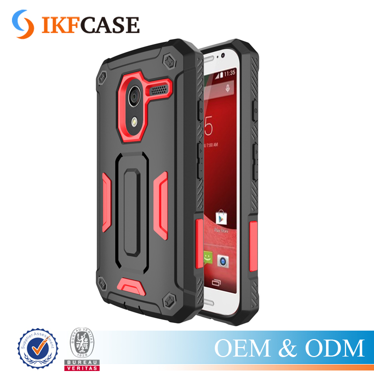 Alibaba Wholesale Shockproof Combo Armor Case for Motorola Motor G1