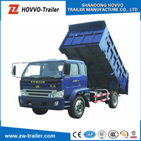 SINOTRUK HOWO 6ton diesel engine 4x4 mini dump truck for sale
