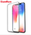 With easy applicator 3D full glue tempered glass screen protector for iPhone X, for iPhone screen protector