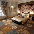 Commercial hotel bed room carpet