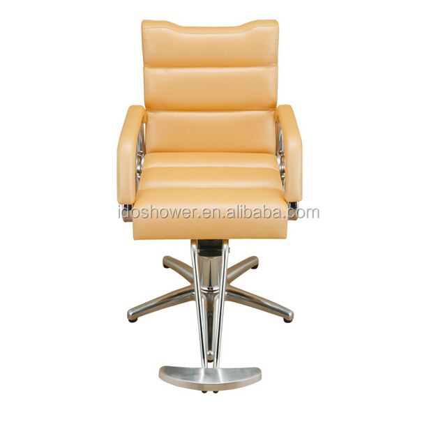 Europe design 2015 fast sale salon furniture yellow salon chairs