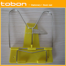 Plastic adjustable book stand folding reading book rest