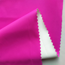 75D milky PU coating breathable moisture wicking polyester pongee waterproof fabric by yard