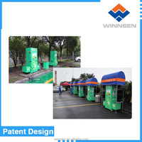 Newest multifunctional money operated mobile car wash machine / car wash business WCW-A10