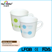 Hard Plastic Cups Drinking Tumbler with Handle