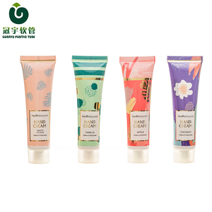 30ml hot stamping and offset printing cosmetic plastic tube for hand cream packaging