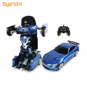 2 in 1 RC Robot Universal Deformation Transform Model Car Toys