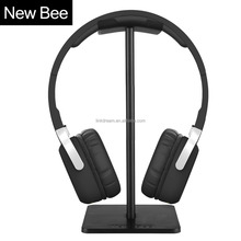 2016 new design headset stand black sliver aluminum material easy simple style headphone stand for Bose for Sony for Beats