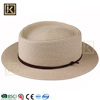 JAKIJAYI 2017 cheap wholesale chinese hat supplier women fashion summer paper made sun beach custom round top boater hat