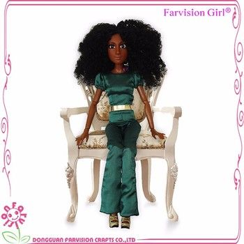 Fashion bjd Queen african Doll treasure Collection 16 inch bjd doll