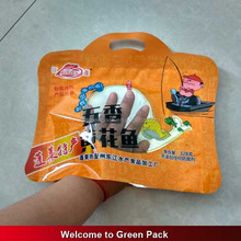 plastic bag for food packaging/ 3 side sealed food bag for meat,pork,beef,sea food