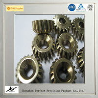 CNC machining spiral bevel gear parts, cnc turning spiral bevel gear spare parts