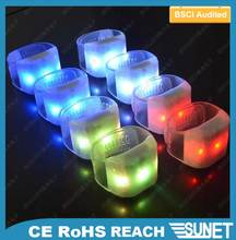 Glowing product with special watchband led bracelet button activate