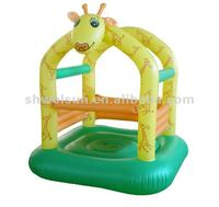 Inflatable Cute Giraffe Jumping Castle
