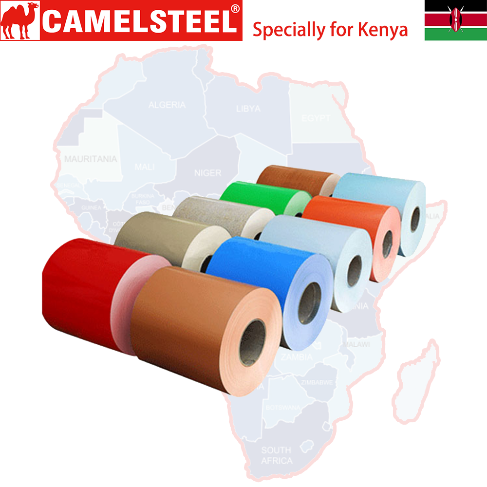 Color coated PPGL coil rolls roofing sheet for Kenya