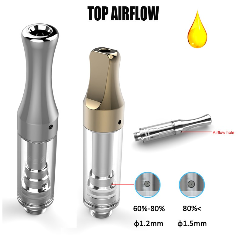 Leak-free ceramic top airflow cbd tank atomizer from ALD AMAZE