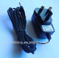 12V 3 pin plug ac medical switching adaptor 1.5A