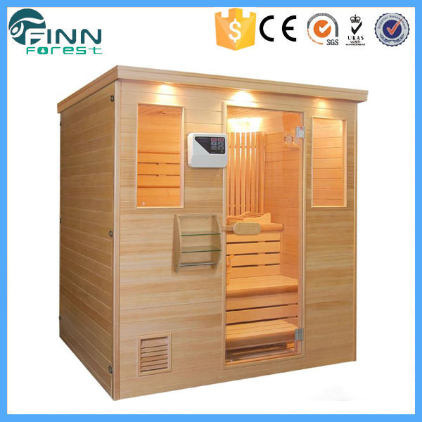2017 new design 3 person dry steam portable sauna room