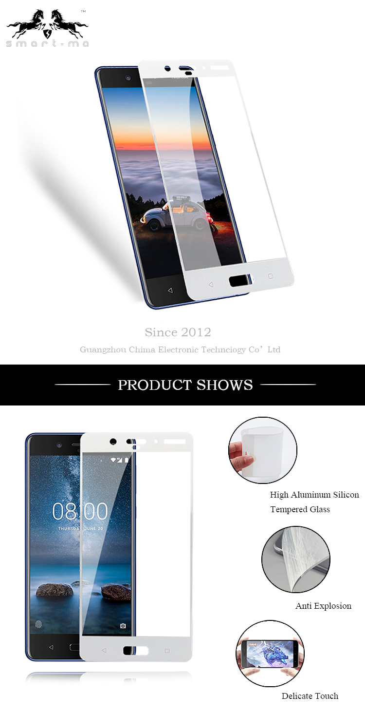 Anti Scratch TPU Handy Displayschutzfolie Wasserdicht Full Cover Flexible TPU Schutzfolie für Nokia 8