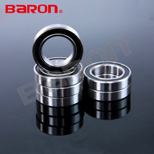 61803 motorcycle 6803 2RS thin section steel ball bearings
