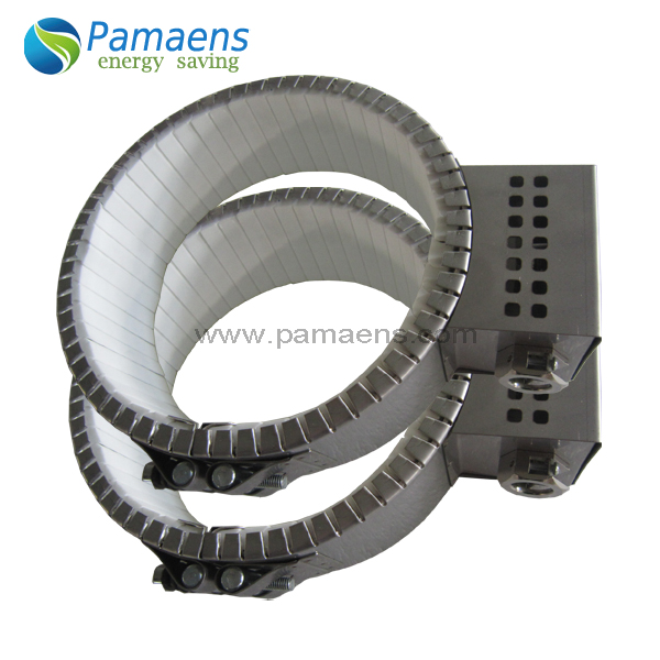 High temperature durable screw barrel heater for plastic extruder with one year warranty