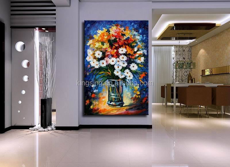 hot new products for 2015 canvas blue abstract oil painting 61031