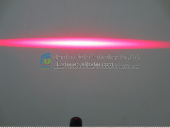 FU650AL100-GD16 16*70mm adjust and fixed focus 3V laser liner generator 100mw, class 3B