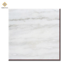 Polished chinese carrara white marble factory for sale