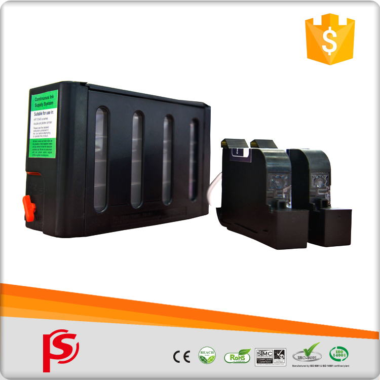 Durable high margin products ciss printer remanufactured ink cartridge for hp