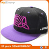 Customized special design snapback hats embroidery with in fron