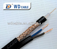 Best Quality Low Price 75ohm RG59 Coaxial Cable/Siamese Cable with High Quality