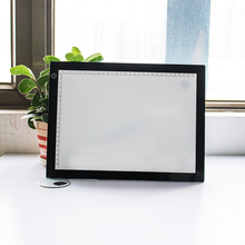 A4 size led tracing board graphic design tattoo massage table touch dimmable led light box