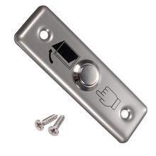 Stainless Steel Switch Panel Door Exit Push Home Release Button Access Control PY-DB6