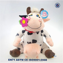 Stuffed Cow/Knitted Stuffed Cow/Stuffed Cow Plush Toy
