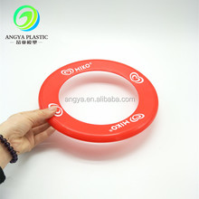 Pet folding frisbee Silicone pet dog frisbee Silicone flying dics