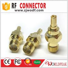 RF female to male crc9 male hdmi to female vga rf cable adapter
