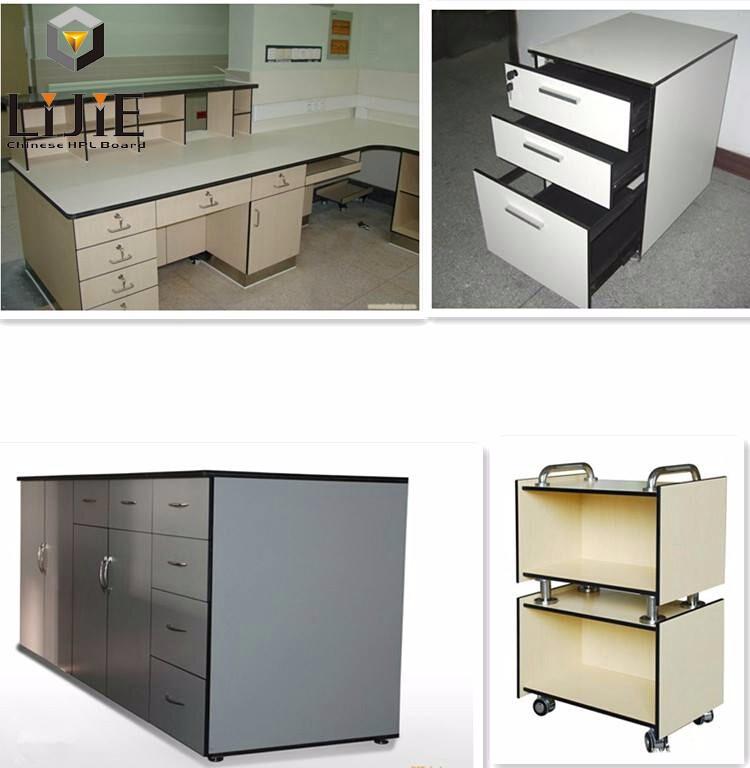 2016 lijie high pressure laminate waterproof modern for High pressure laminate kitchen cabinets