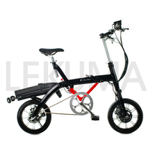 New model internal 3 speed small folding electric bicycle