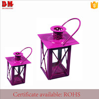 Mobile Iron Metal Wall Hanging Lantern