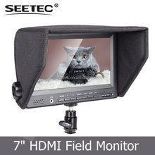 Multiple Video Inputs Composite Component HDMI Field Broadcast 800*480 Resolution 7 Portable LCD Monitor for DSLR Camera