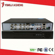 Fácil de usar e instalar red digital video recorder dvr h264 hd vision cctv dispositivo dvr recoder YJS-108DVR apoyo smartphone